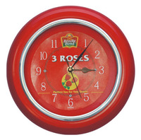 Red Corporate Gift Promotional Sale clock