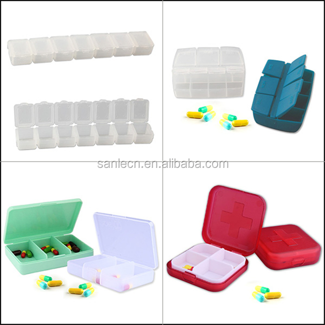 Hot selling high quality PP 7 days pill case
