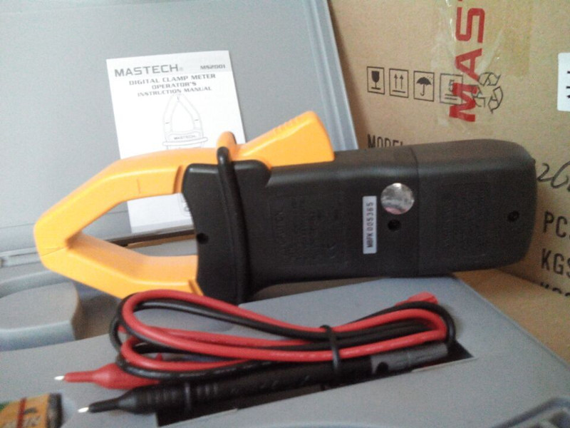 Mastech Ms2101 DC and AC current Digital Clamp Meter
