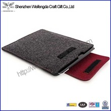 Simple design high quality felt material kids tablet case
