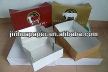 Ensalada de fruta/carne packaging box con tapa