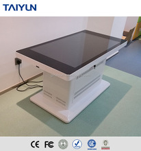 Teaching Multi Touch Table For Kid Touch Screen Kiosk