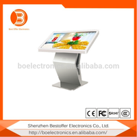 2016 Hot Popular floor stand interactive touch screen digital signage/advertising player/kiosk
