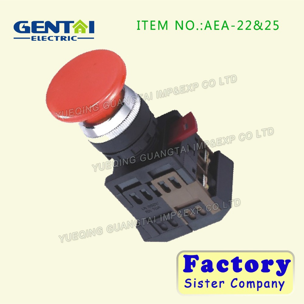 (AEA-22&25 22MM,VDE,CE,ROHS,PSE) on pow Push button switch start