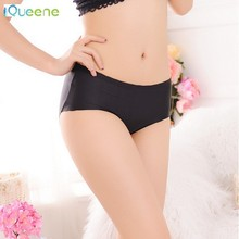 Wholesale Natural fadeless tuck-upIce silk ladies underpants