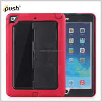 silicone + PC Amor shock proof Comobo Case Stand tablet Cover For Ipad Air case