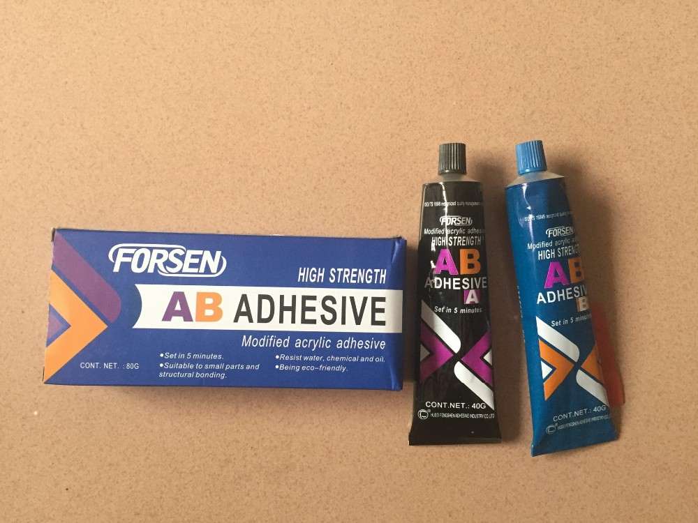 5 mintues curing transparent Epoxy resin and hardener AB Adhesive