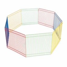 Multi-Color Small Pet Playpen Hamster Metal Wire Folding Adjustable pet outdoor fence