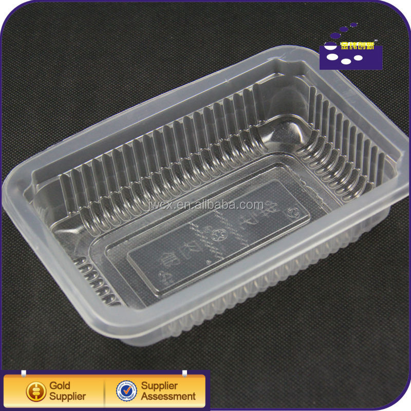 pp blister plastic tray for cooked food