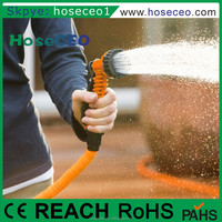 High Pressure Pvc Hydraulic Spray Nozzle Fitting Rubber Magic Silicon Flexible Expandable Garden Water Hose Reel