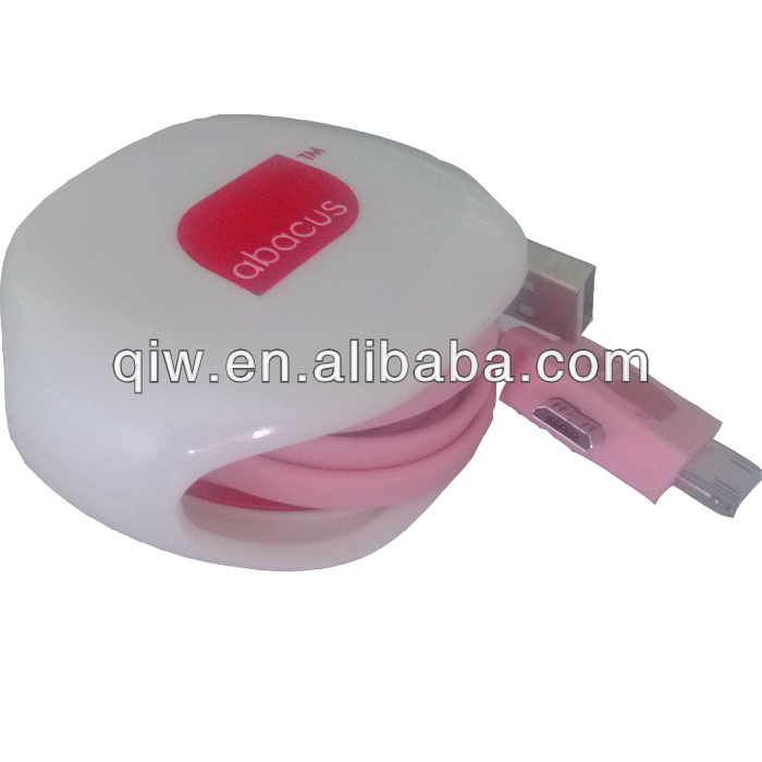 promotional item Plastic AUTOMATIC cable winder organizer