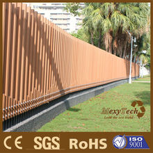 Wooden border wpc fence for USA,UK