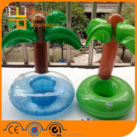 Promotional cool Inflatable cup holder new floating drink