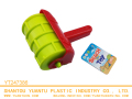 1PCS Garden Outdoor plastic sand Roller Beach toys for kids, printing bricks or tire tracks