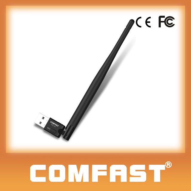COMFAST CF-WU735P Original New Brand One button WPS Ralink 150Mbps USB Wireless Adapter for Android