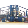 Hot air Q345R boiler steel medical waste plastic pyrolysis machine