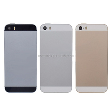 Replacement Rear Case for Iphone5S Housing Rear Door Battery Cover for Iphone 5S original complete Housing Back Cover
