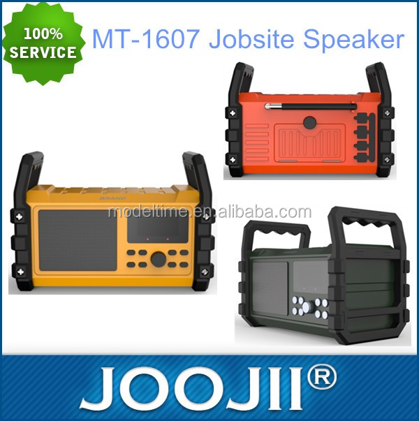 Wholesale worksite speaker with LED display
