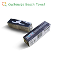 100% cotton beach style bath towel compressed towel