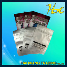color zipper bag plastic packaging bags with zipper zip lock stand up pouches
