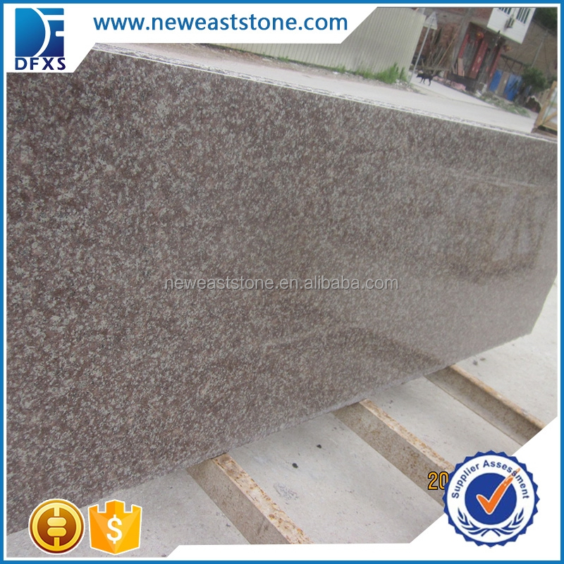 Chinese polished g687 granite polished slab peach red granite