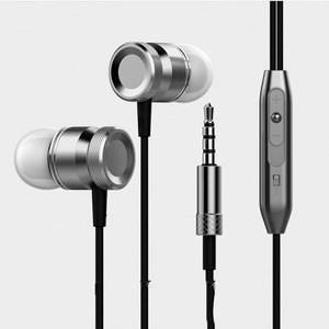 Pilot headset microphone metal headphone stereo headset for mobile phones