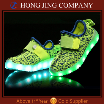 Yeezy shoes kids lighting shoes led shoes