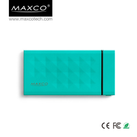 MAXCO Popular portable 6000 mah power bank chargers emergency for cellphone