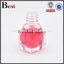 mini glass pyramid shaped perfume bottle free sample perfume tester bottle manufacturer