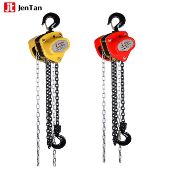 JenTan hand pulley chain hoist 3ton chain block