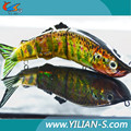 2016 New arrival fishing lure selling from Factory Directly 5 section joint fishing lure,fishing lot fish tackle wholesale