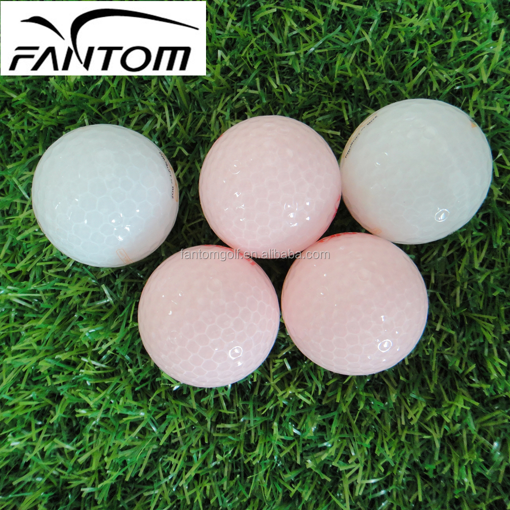 2 Pieces Golf Ball, Transparent Cover Golf Ball by Fantom---432 Dimples