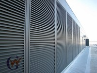 Outdoor vertical plantation aluminum shutters from china