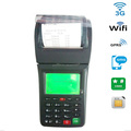 handheld ticketing machine for food delivery to receive orders from phone or website via 3G wifi