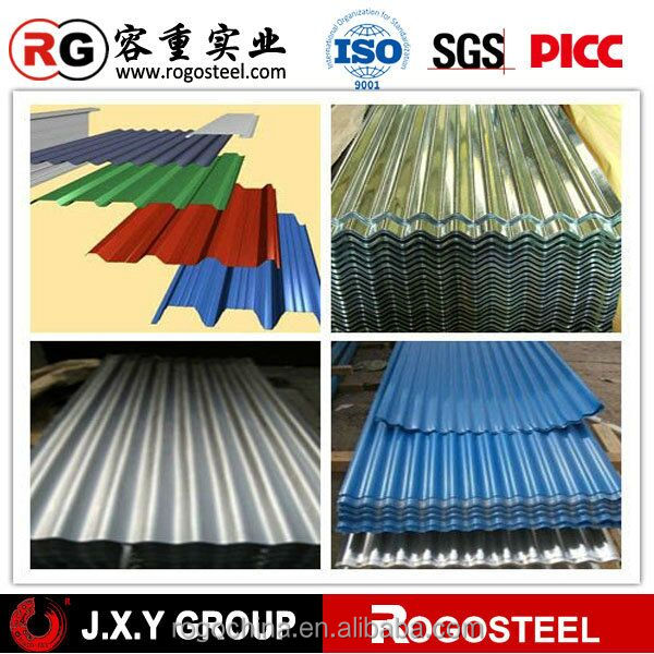 High Quality 0.5mm thick aluminum zinc roofing sheet