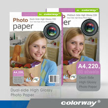 Colorway Ultra Premium inkjet Photo Paper 4x6 Instant Dry Dual side high glossy 20 sheets BRAND NEW!