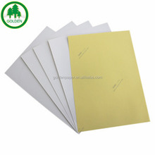 semi glossy /art paper self adhesive sticker paper factory