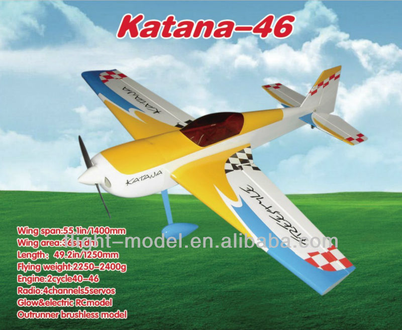 Nitro airplane Katana-46 F011 aeromodelling in china