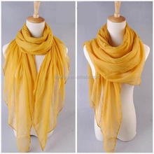 ginger voile scarf fashion trend new arrival pashmina