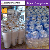 Trade Assurance blue shrinkable moisture proof feature self-adhesive film pvc stretch film