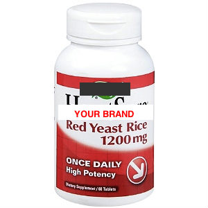Red Yeast Rice Capsules / Tablets / Softgels