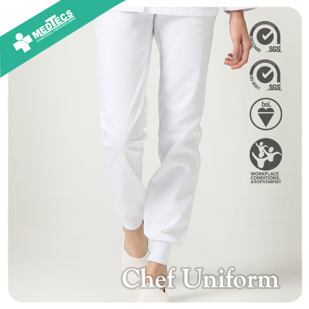 Wholesale Jogger Pants To Cook Uniform Polyester Fabric Pants