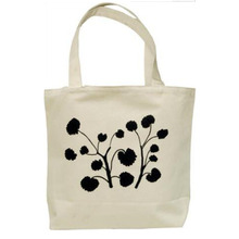 Good quality customized printing canvas wholesale tote bags no minimum with logo