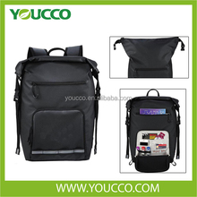High quality black strong laptop backpack laptop accesoris back carry bag for laptop