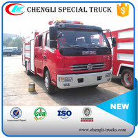 Dongfeng 4*2 Small Appliance Carrying Fire Vehicle Left Hand Drive