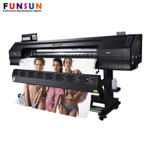 Direct Textile Printer Digital Printing 1.8m Eco Solvent Cloth Fabric Printer