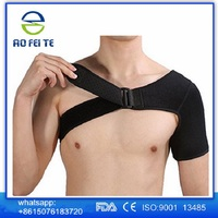 Adjustable compression neoprene single nexk&shoulder brace support for protector
