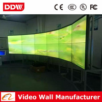 47 Inch LCD video wall Samsung/LG brand super narrow bezel monitor display for live broadcast DDW-LW4702/01
