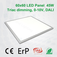 Ultra slim 600*600mm 2x2 surface mounted square Lifud driver led ceiling panel light price