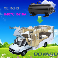 R407C Hermetic Horizontal rotary compressor for carrier air conditioning
